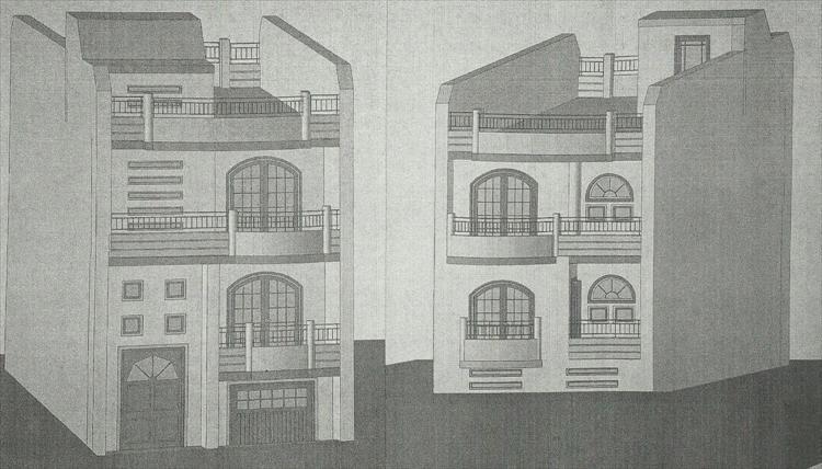 Struttura in parte iniziata. Tre livelli con terrazzo, il tutto su una superficie di circa 125 mq. Affare  ...